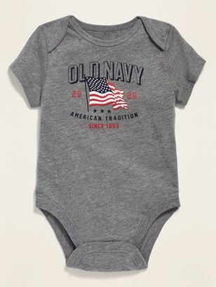 Old Navy Flag Graphic Jersey Bodysuit for Baby