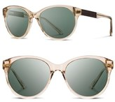 Shwood 'Madison' 54mm Round Sunglasses