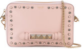 Salar - studded clutch - women - Cotton/Calf Leather/Metal (Other) - One Size