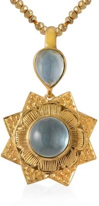Emma Chapman Jewels Lyra Aquamarine Pendant