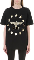 Boy London Metallic Globe Star Eagle t-shirt