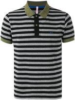 Sun 68 contrast collar polo shirt - men - Cotton/Spandex/Elastane - M