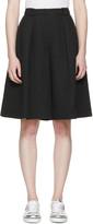 Jil Sander Navy Black Oversized Culottes