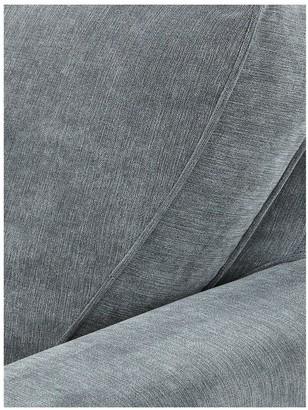 New Camden Right-Hand Fabric Corner Chaise Sofa