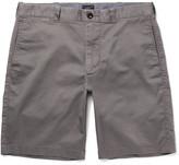 J.Crew Stanton Stretch-cotton Twill Shorts - Gray