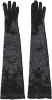 Ann Demeulemeester lace and mesh gloves