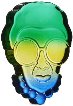 Nude Glass Iris Apfel Glass Paperweight