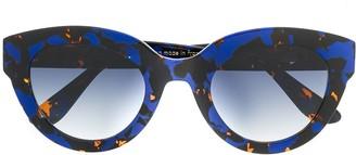 Emmanuelle Khanh Cat Eye Tinted Sunglasses