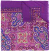 Etro mixed paisley pattern scarf