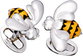 Jan Leslie Bumblebee Cuff Links