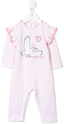 Kenzo Kids Printed Bodysuit
