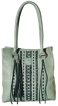 STS Ranchwear Marlowe Tote (Seafoam) Handbags