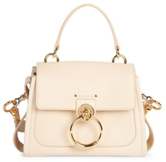 Chloé Mini Tess Leather Satchel