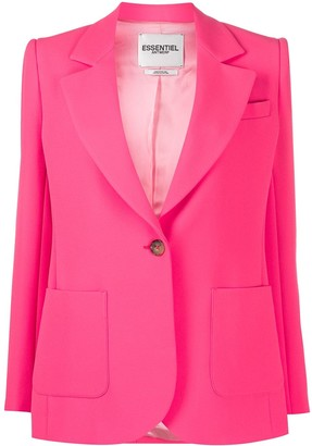 Essentiel Antwerp Vactive single-breasted blazer