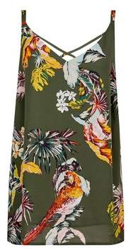 Dorothy Perkins Womens **Tall Parrot Print Camisole Top