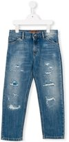 Dolce & Gabbana distressed jeans - kids - Cotton - 3 yrs
