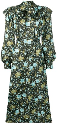 Golden Goose Floral Print Dress