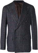 Caruso check jacket