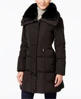 MICHAEL Michael Kors Hooded Faux-Fur-Trim Down Coat