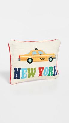 Jonathan Adler Jet Set New York Pillow