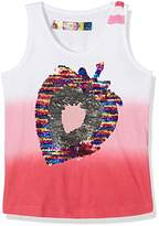 Desigual Girl's TS_WHITEHORSE T-Shirt,(Manufacturer Size: 13/14)