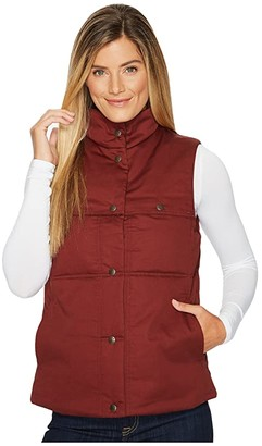 Filson Quilted Westward Vest (Burnt Red) Women's Vest