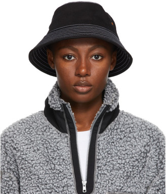 Rassvet Black Denim Bucket Hat