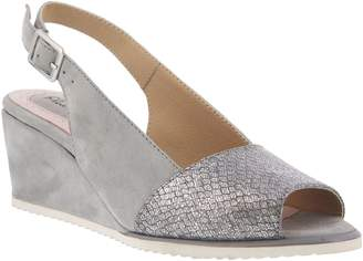 Spring Step Leather Sandals - Evia