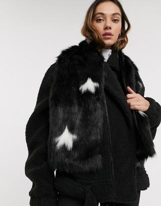Skinnydip Skinny Dip Bellatrix Faux Fur Scarf