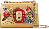 Dolce & Gabbana Lucia shoulder bag - women - Leather/Brass - One Size