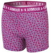 Under Armour Girl's Armour Printed Shorty Shorts