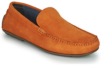 Andre BIOUTY men's Loafers / Casual Shoes in Orange