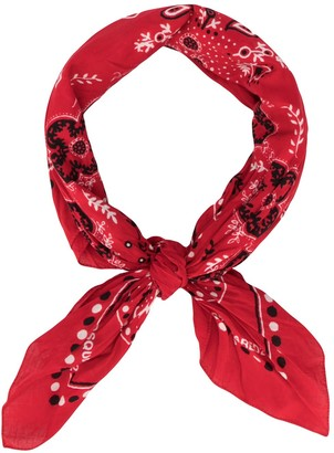 DSQUARED2 printed bandana neck scarf