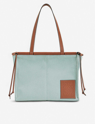 Loewe Cushion canvas tote bag