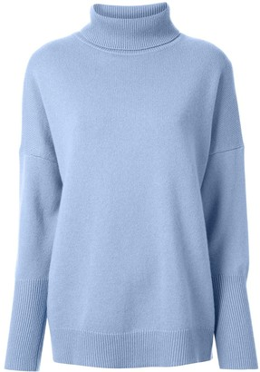 Chinti and Parker Cashmere Turtle Neck Jumper