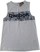 Reebok White Cotton Top for Women