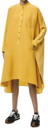 Loewe Colorblock Anagram Tunic Dress