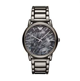 Emporio Armani Men'S Gunmetal Watch