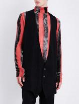 Ann Demeulemeester Striped woven waistcoat