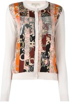 Emilio Pucci abstract striped print cardigan
