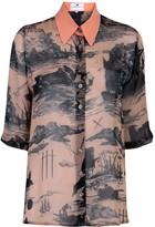 Klements Mildred Shirt In Doomed Voyage Print
