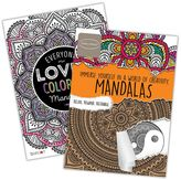 Bendon Mandalas 2-pk. Adult Color Books by