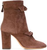 Alexandre Birman bow detail boots