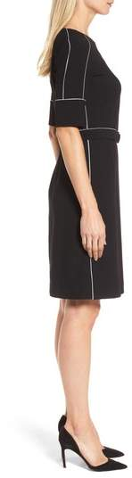 BOSS Duwimea Seamed Pencil Dress
