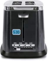B.ella Ultimate Elite Collection 2-Slice Black Stainless Steel Finish Digital Toaster