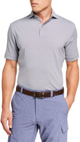 Peter Millar Men's Jubilee Stripe Stretch-Jersey Polo Shirt