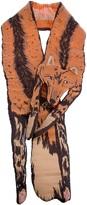 Cleo Ferin padded fox scarf