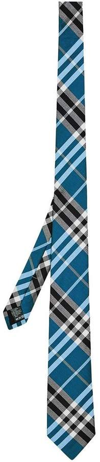 Burberry Modern Cut Check Tie