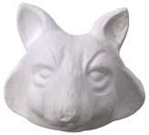 Threshold Fox Head Wall Art - White