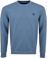 Henri Lloyd Bredgar Crew Neck Sweatshirt Blue